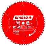 Diablo D1060X 10 in. x 60 Tooth Fine Finish Saw Blade D1060X