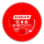 Diablo D1080X 10 in. x 80 Tooth Ultra Finish Saw Blade D1080X