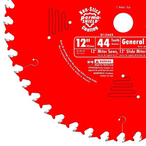 Diablo D1244X 12 in. x 44 Tooth General Purpose Saw Blade