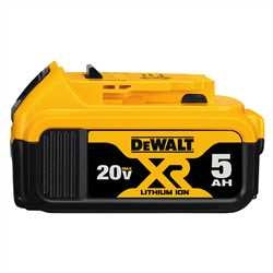 Dewalt 20V MAX* Premium XR® 5.0Ah Lithium Ion Battery Pack DCB205