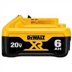 Dewalt 20V MAX PREMIUM XR 6.0Ah LITHIUM ION BATTERY PACK DCB206