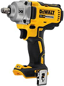 DeWalt 20V MAX* XR® 1/2 in. Mid-Range Cordless Impact Wrench with Hog Ring Anvil (Tool Only) DCF894HB