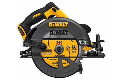 Dewalt FLEXVOLT® 60V MAX* 7-1/4 in. CIRCULAR SAW w/Brake (Tool Only) DCS575B