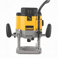 Dewalt 3 HP (maximum motor HP) EVS Plunge Router DW625
