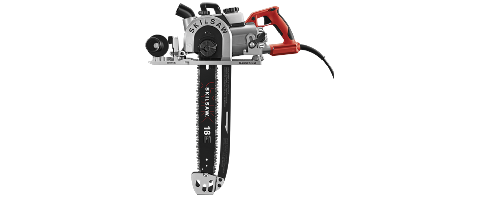 Skilsaw 16 In. Worm Drive SAWSQUATCH™ Carpentry Chainsaw SPT55-11
