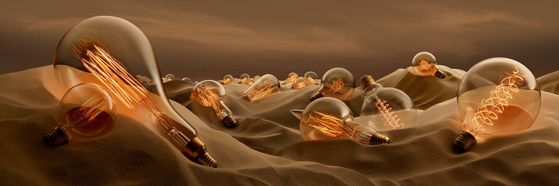 Lightbulb Desert