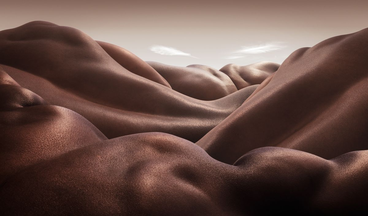 Desert of Backs