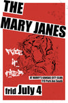 The Mary Janes Promotional Rock Band Poster