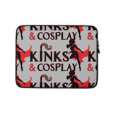 Kinks And Cosplay Laptop Sleeve