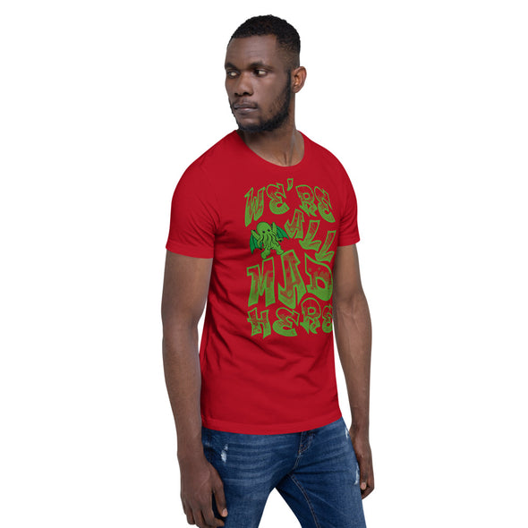 Cthulhu All Mad Here Short-Sleeve Unisex T-Shirt