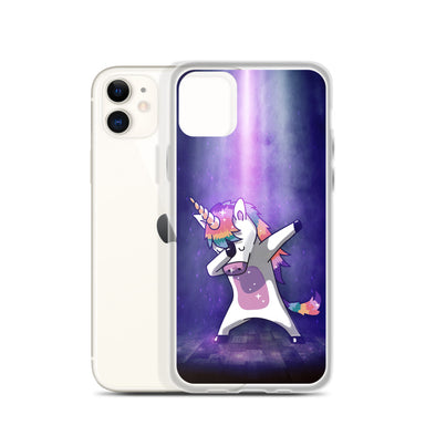 Dabbing Unicorn Iphone Case