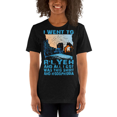 I Went to R'yleh Short-Sleeve Unisex T-Shirt