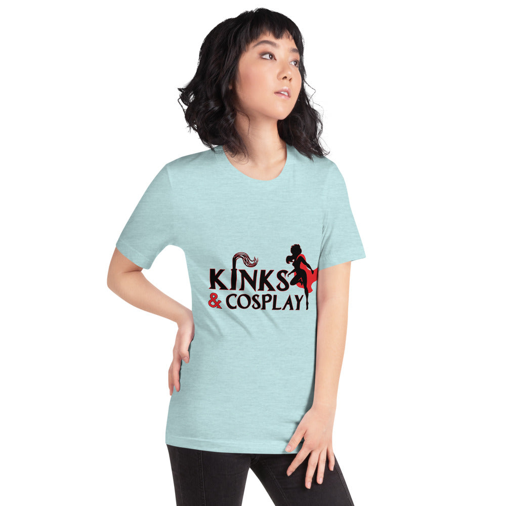 Kinks and Cosplay Sexy unisex shirt