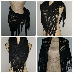 Small Crocheted Shawl