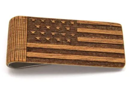 Money Clip | American Flag