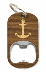 Bottle Opener Keychain | Anchor