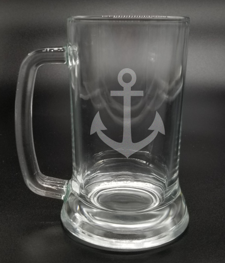 Anchor | Etched Glass