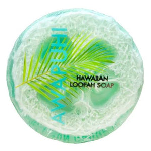 Sea Salt & Kukui Exfoliating Loofah Soap - Awapuhi