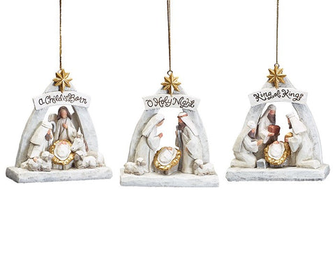 Blessed Beginnings Nativity Ornament