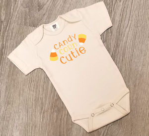 Candy Corn Cutie - One Piece Jumper