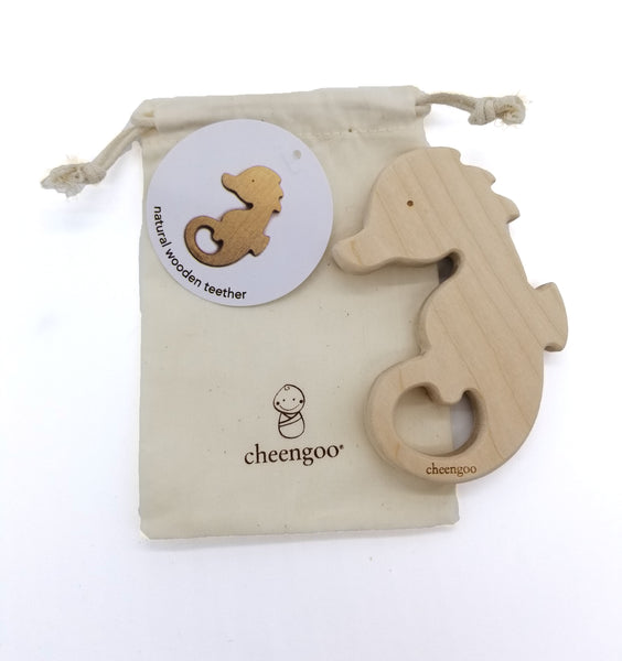 Sea Horse Wooden Teether