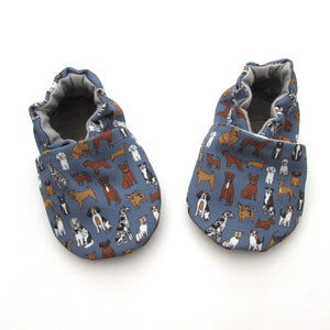 Dog Eco Canvas Baby Shoes