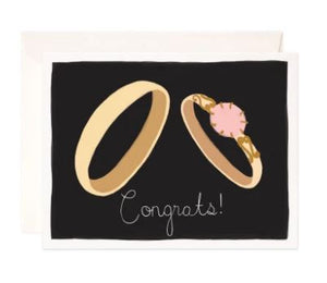 Engagement Congrats Greeting Card