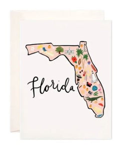 Florida Greeting Card