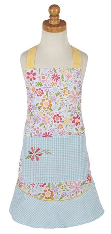 Flower Party Children's Apron