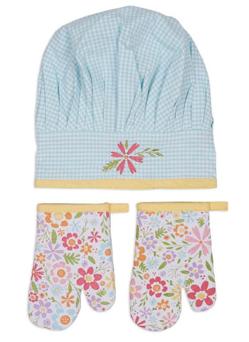 Flower Party Children's Chef Gift Set