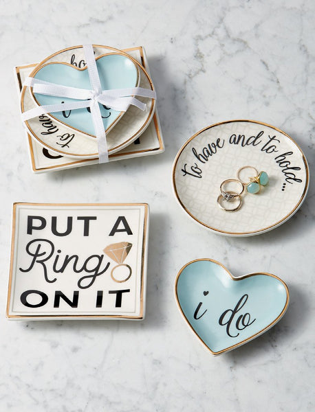 I Do Porcelain Catchall Set
