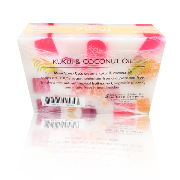 Kukui & Coconut Oil Soap - Island Sands