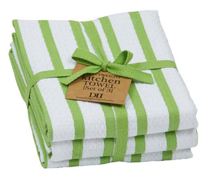 Lime Zest Heavyweight Dishtowel - Set of 3