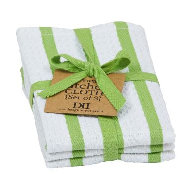 Lime Zest Heavyweight Dishcloth - Set of 3