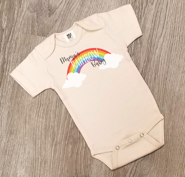 Mama's Rainbow Baby - One Piece Jumper