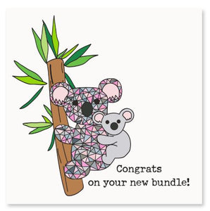 Congrats On Your New Bundle! Greeting Card
