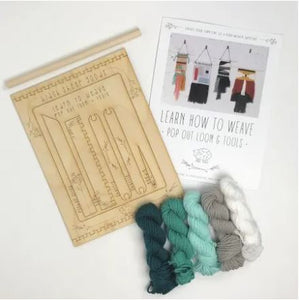DIY Tapestry Weaving Kit - Ocean