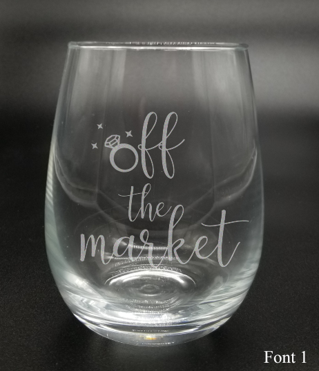Off the Market - Etched Glass