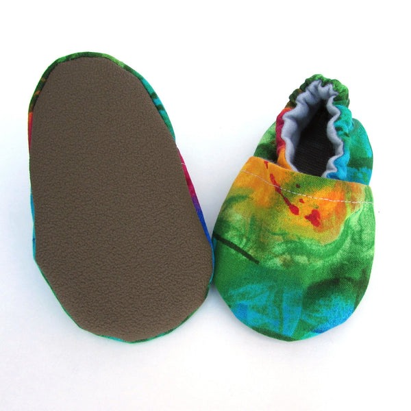 Over the Rainbow Baby Shoes