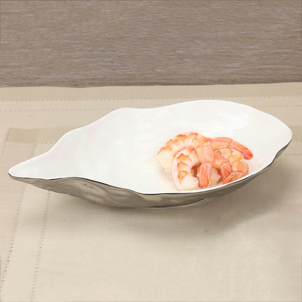 Medium Porcelain Oyster Bowl