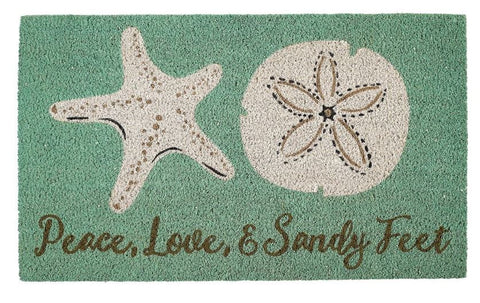 Star Fish & Sand Dollar Doormat