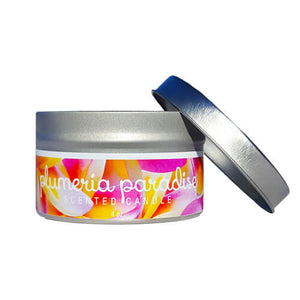 Plumeria Paradise Natural Soy Wax Candle, 4 oz