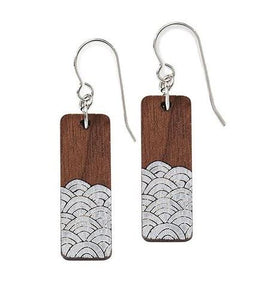 Waves Earrings in Silver