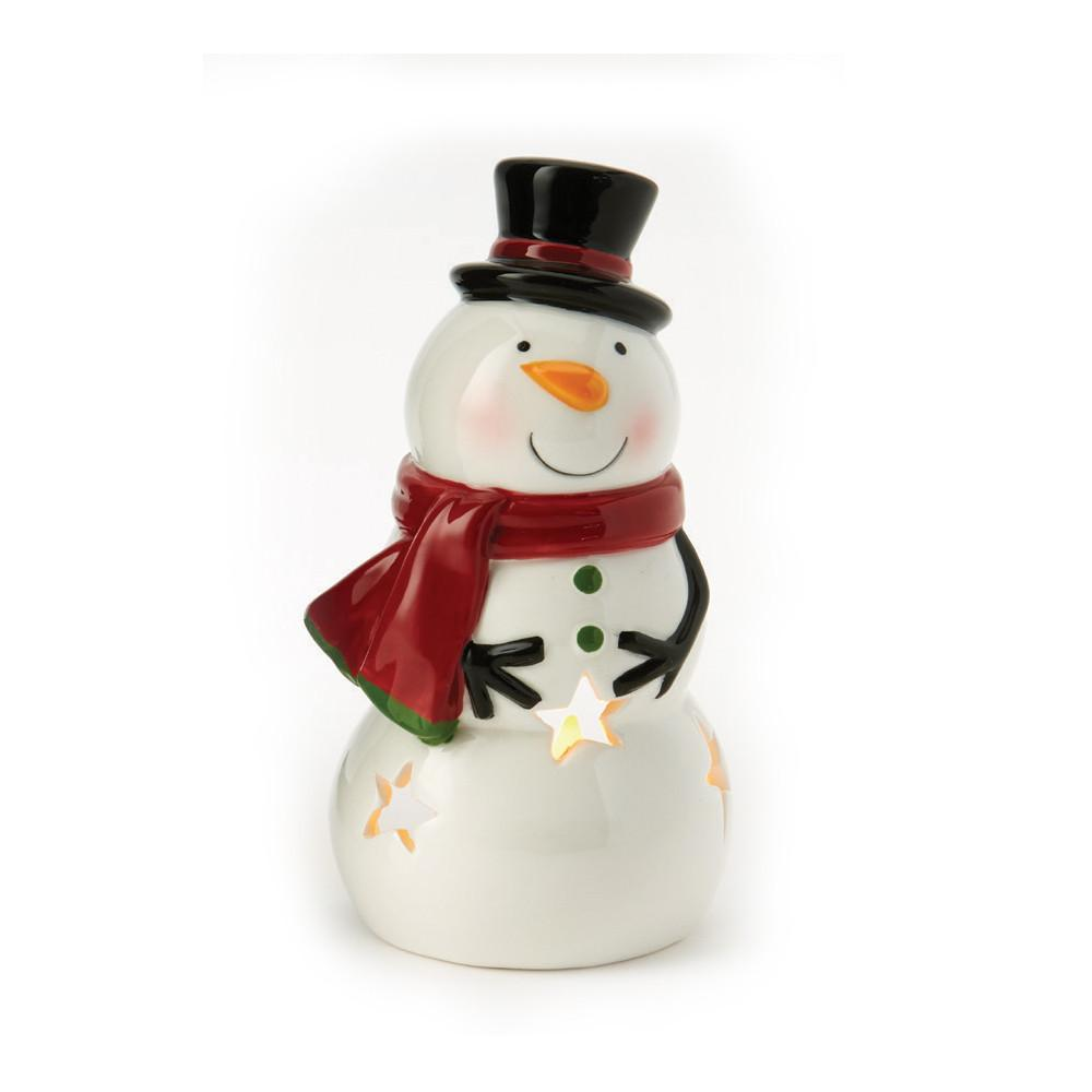 Snowman Tea Light Holder