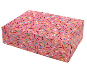 Roll of Sprinkle Gift Wrap (3 Sheets)
