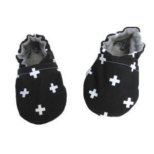 Swiss Cross Baby Shoes