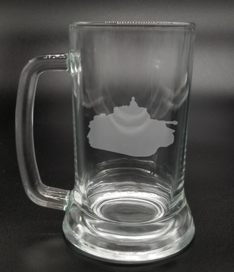 Tank - Etched Glass