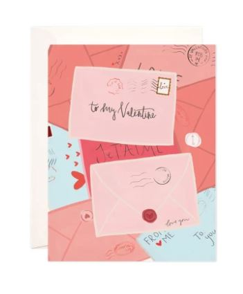 Valentine's Day Mail Greeting Card