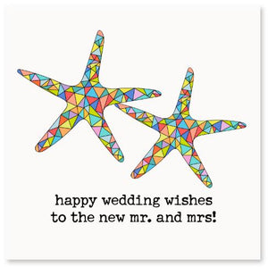 Happy Wedding Wishes! Greeting Card