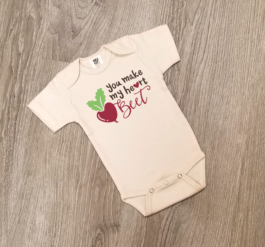 e485f5ee72ed You Make My Heart Beet - One Piece Jumper - Naples Unique Gifts and ...